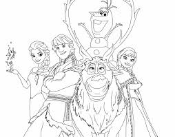 coloring pages frozen new frozen happy family free coloring page disney frozen kids