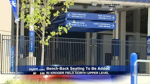 Bench Back Seating To Be Added In Kroger Field North Upper Level