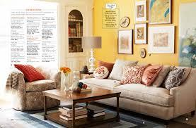 Yellow Wall Living Room Decor