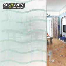 Static Cling Non adhesive Window Film Frosted Glass Film Bathroom ...