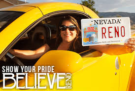 show your pride by ordering the new city of reno license plate from dmv