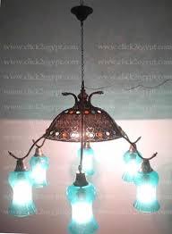 unique large brass mouth blown glass chandelier pendant lighting