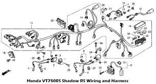 2010 honda vt750rs shadow rs wiring and harness circuit wiring honda vt750rs shadow rs wiring and harness schematic