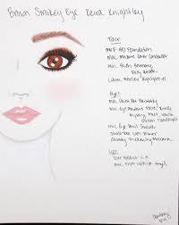 s list keira knightley smokey brown eye face chart fresh flawless full face makeup makeup ideas makeup list