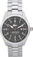 lacoste watch lacoste montreal black dial bracelet mens watch from the argos shop on