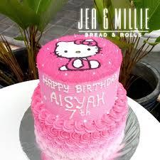 Jea Millie Kue Ulang Tahun Hello Kitty Harga Mulai Facebook