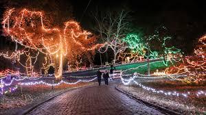 College Hill Christmas Lights Christmas Wonderland At Rock Spring Park In Alton