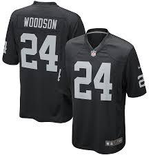 Raiders Jersey Woodson Charles Oakland