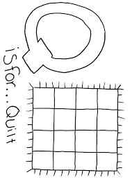 Small Picture Letter Q Coloring Pages Draw A Line To The Matching Q Word