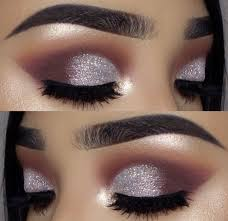 light purple and silver eye makeup inspiration