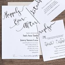 Printable Wedding Invitation Wedding Invitation Template Printable Wedding Invitation Happily