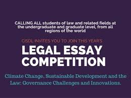 global climate law and governance legal essay competition  submission