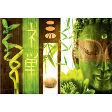 green canvas wall art uk