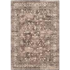 safavieh serenity brown cream 6 ft x 9 ft area rug