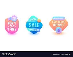 Online Badge Sale Badge Set Discount Promo Price Online Banner