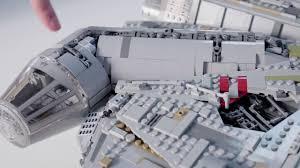 Lego Star Wars Designer Videos Ucs Millennium Falcon Lego Star Wars 75192 Designer Video