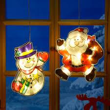 Led Fensterdeko Weihnachtsmann Manni