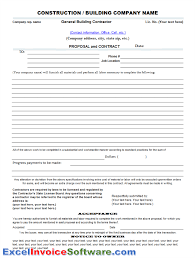 construction proposal template cyberuse construction bid proposal templates 11aal0gf