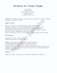 Teaching Resume Cover Letter resume Art Teacher Resume 45