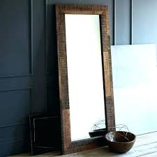 wood frame floor mirror contemporary floor mirror contemporary full length mirrors bedroom contemporary with wall lighting