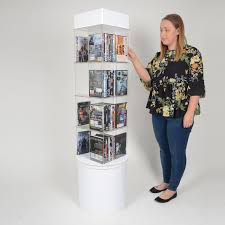 Dvd Display Stands Inspiration DVD Or Book Display Stand Display Stands And Merchandisers