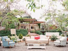 Outdoor wedding furniture Garden French 10 Awesome Outdoor Wedding Trends The Knot 10 Outdoor Wedding Trends Were Loving Now