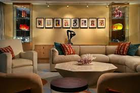 beautiful lighting view in gallery stunning use of track to showcase wall art with living room track lighting living room57