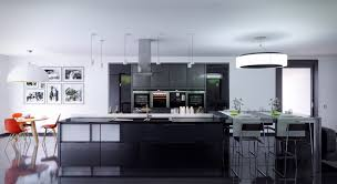 Kitchen Design Convretible Range Hood Modern Wooden Kitchen - Modern kitchen pendant lights