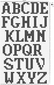 Alphabet Knitting Chart Free Alphabet Chart For Duplicate Stitch Crochet Letters