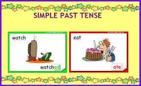 Resultado de imagen de simple past tense