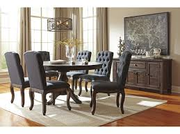 oval kitchen table set. Ashley Signature Design Trudell7-Piece Oval Dining Table Set Kitchen