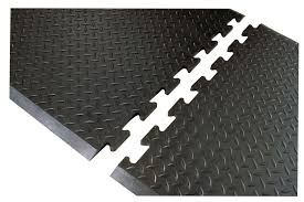 Kitchen Fatigue Floor Mat Footsaver Interlocking Solid Top Anti Fatigue Floor Mat 3 8