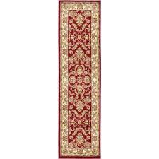 voyage red 2 ft 7 in x 10 ft runner rug