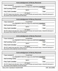 Money Receipt Sample 9 Examples In Word Pdf