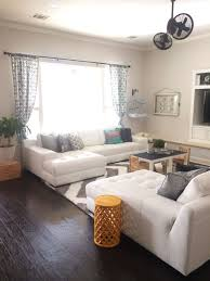 White Leather Living Room Design My Living Room 2 Leather Sectionals Facing Each Other