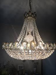 Kronleuchter Swarovski Kristall Vergoldet In 38448