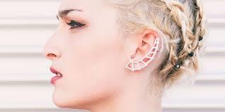 Piercing Orecchio Uomo Trago Gioielli Con Diamanti Popolari