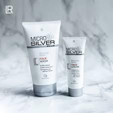 LR Health & Beauty Belgium - Notre crème lavante LR MICROSILVER PLUS  nettoie en douceur, en profondeur & apaise la peau du visage grâce à  MicroSilver BG™, un produit anti-catabolique & antiviral.