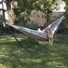 two person hammock with stand. Online Cheap Portable Person Hammock Stand Outdoor Patio Camping Beach Double Carrying Bag By DhgateCom To Two With