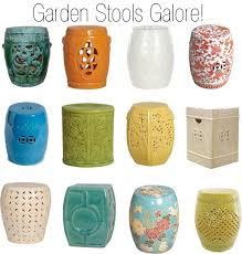 ceramic garden stools.  Garden And Ceramic Garden Stools I