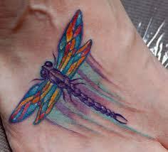 Tetování Vážka Fotogalerie Motivy Tetování