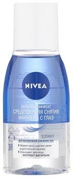 Nivea <b>средство для снятия макияжа</b> с глаз Двойной эффект ...