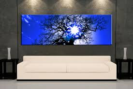 contemporary panoramic wall art home design ideas 1 piece living room decor sunrise artwork sunset large pictures blue uk australia canada canvas