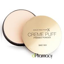 Max Factor Creme Puff Colour Chart Max Factor Creme Puff Pressed Powder 81 Truly Fair 21g