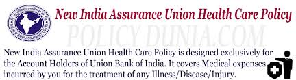 Bank Of Baroda Health Insurance Premium Chart New India Assurance Union Health Care Policy Review