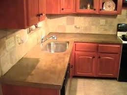 making concrete countertops in place how
