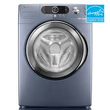 samsung front load washer reviews. Fine Samsung Samsung 40 Cu Ft Front Load Washer Color Breakwater Blue ENERGY Inside Reviews