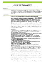 nursing cv examples  amp  templates   livecareerjenny b    nurse practitioners cv   waltham abbey  essex