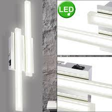Led Beleuchtung Chrom Flur Lampe Design Zu Leuchte Strahler