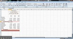 excel income statement excel tutorial how to make an income statement youtube